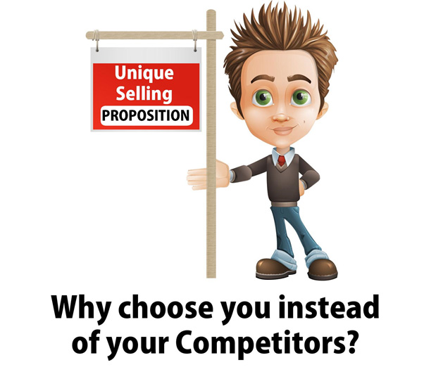 why choose you vs your competitors